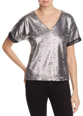 Catherine Malandrino Sandy Sequined Top
