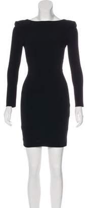 Tom Ford Structured Mini Dress