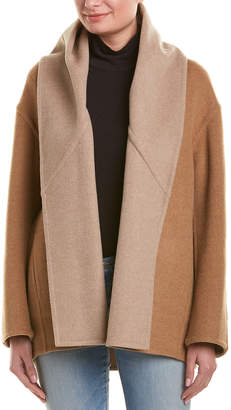 Vince Shawl Collar Wool-Blend Coat