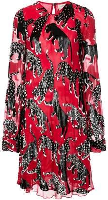 Carolina Herrera animals shift dress