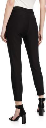 Nanette Lepore Nanette Ankle Mid-Rise Zip-Pocket Leggings