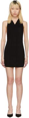 Jacquemus Black La Maille Drapeado Longue Dress