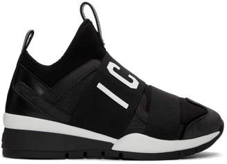 DSQUARED2 Black Icon Sneakers