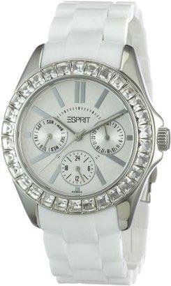 ESPRIT Women's ES105172006 Dolce Vita Plastic White Analog Watch $145 thestylecure.com