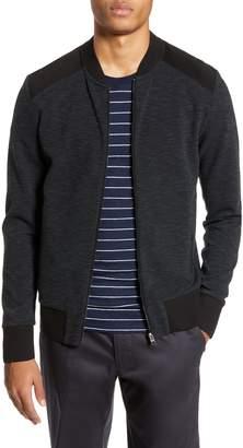 BOSS Skiles Regular Fit Full Zip Knit Jacket