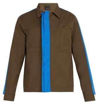 Craig Green Fin Cotton Twill Worker Jacket - Mens - Green