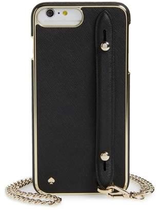 Kate Spade hand strap iPhone 7/8 Plus crossbody case