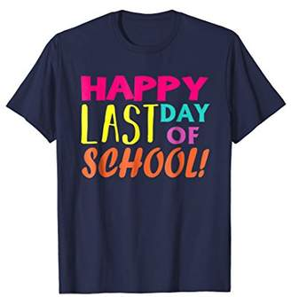 DAY Birger et Mikkelsen Happy Last Of School T-Shirt Summer Time Gift Shirt
