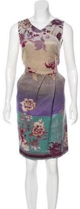 Etro Sleeveless Knee-Length Dress