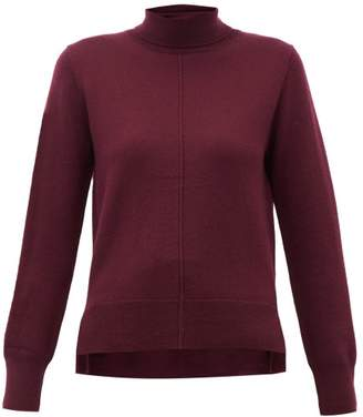 Sea Nora Roll Neck Wool Sweater - Womens - Burgundy