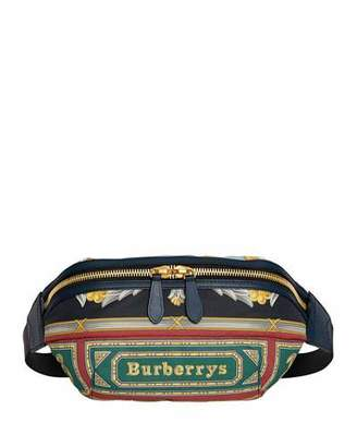 Burberry Men's Archive Scarf-Print Fanny Pack