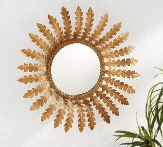 Pottery Barn Accent Gold Mirror