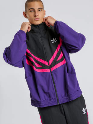 adidas Sportive Track Jacket in Purple Pink