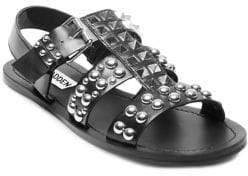 Steve Madden Sharon Studded Leather Sandals
