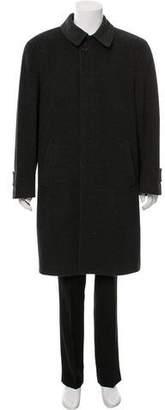 Burberry Virgin Wool Car Coat