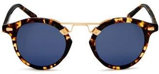 Krewe Women's St. Louis 24K Polarized Round Sunglasses, 46mm