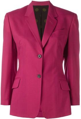 Jean Paul Gaultier Pre-Owned dot print lined blazer