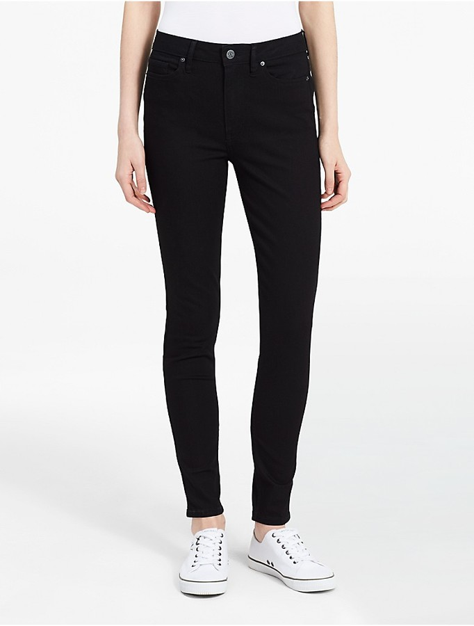 Calvin Klein High Waist Black Leggings