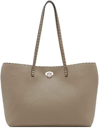 Fendi turnlock shopper bag