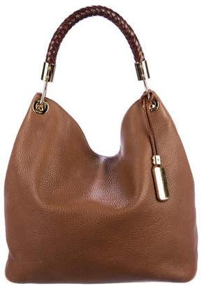 98b5264fa46c23 Michael Kors Skorpios Leather Hobo