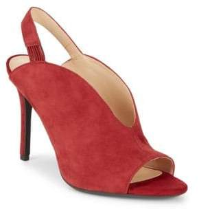 Nine West Moore Suede Stiletto Slingbacks