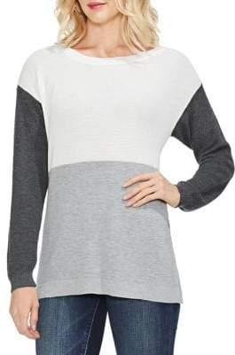 Vince Camuto Estate Jewels Colorblock Sweater