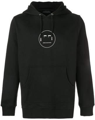Diesel Black Gold logo hooded sweatshirt