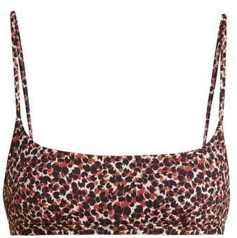 MATTEAU The Crop Oasis-print bikini top