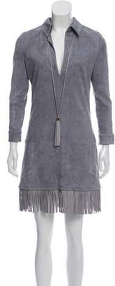 Jitrois Suede Mini Dress w/ Tags