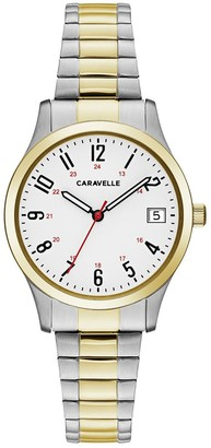 Caravelle Women's Easy Reader Expansion Bracelet Watch