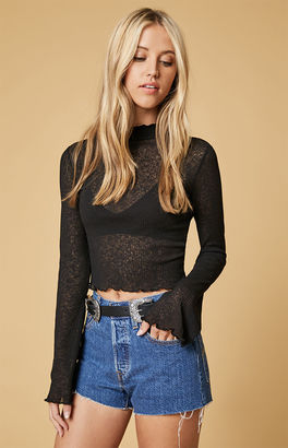 TWIIN Method Mesh Flare Top $49 thestylecure.com