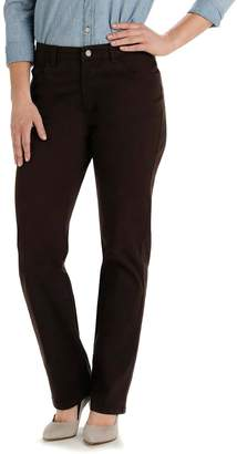 Lee Petite Relaxed Fit Straight Leg Jeans