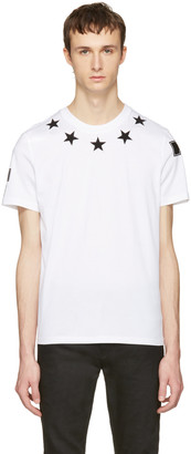 Givenchy White Stars T-Shirt $550 thestylecure.com