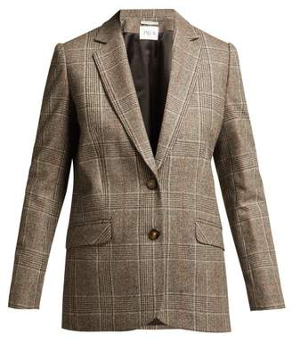 Pallas X Claire Thomson Jonville X Claire Thomson-jonville - Dickens Princes Of Wales Check Blazer - Womens - Grey Multi