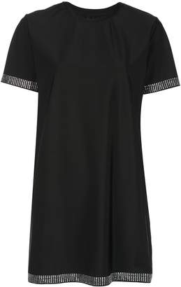 Adam Selman studded T-shirt dress