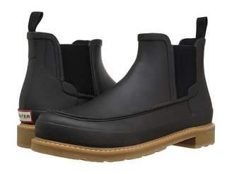 Hunter Moc Toe Chelsea Boots
