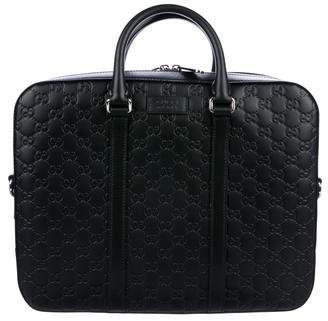 Gucci Guccissima Signature Briefcase