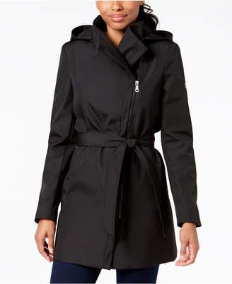 Calvin Klein Asymmetrical Trench Coat