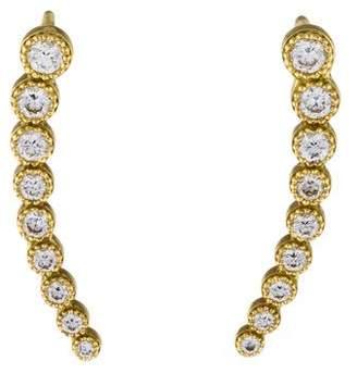 Penny Preville 18K Diamond Earring Climbers