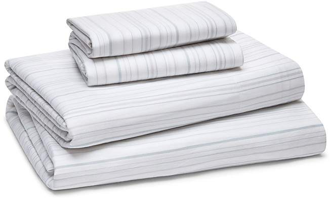 Organic Cotton Yarn Dye Stripe Sheet Set, King - 100% Exclusive