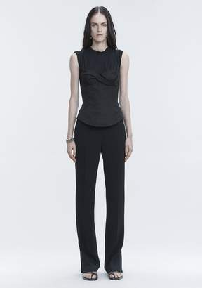 Alexander Wang TROUSERS WITH SIDE SNAP CLOSURE