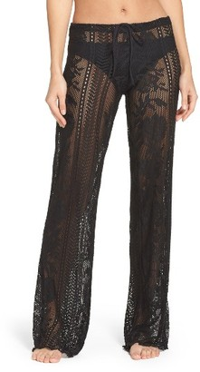 Women's Becca Lace Cover-Up Pants $68 thestylecure.com