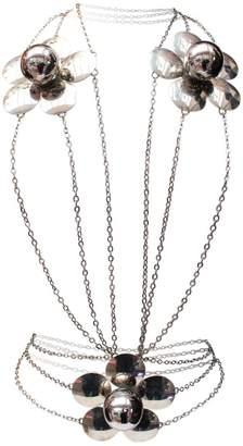 Pierre Cardin Vintage Silver Metal Necklace
