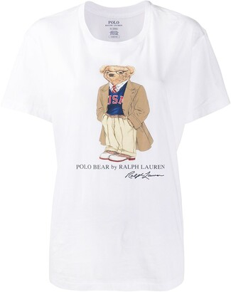 Polo Ralph Lauren Polo Bear print T-shirt