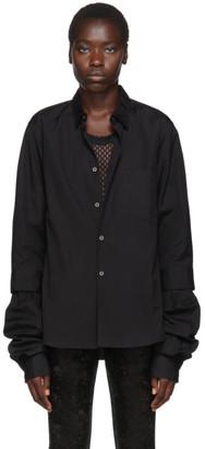 Comme des Garcons Black Double Layer Shirt