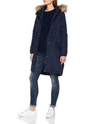 72a415e01350b Mama Licious Mamalicious Women's Mljessie New Parka Coat Maternity, Blue  Navy Blazer, (Size
