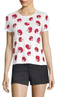 Alice + Olivia x Donald Rylyn Embellished Shirt