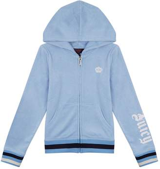Juicy Couture Logo Terry Hoodie