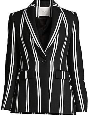 Maje Women's Striped Blazer