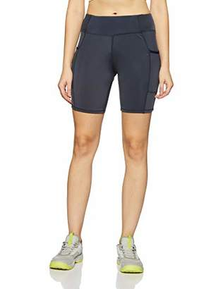 Oasis Sunday Women's Tights Highwaist Sports Shorts Yoga Workout Gym Running Cycling Shorts with Side Pocket